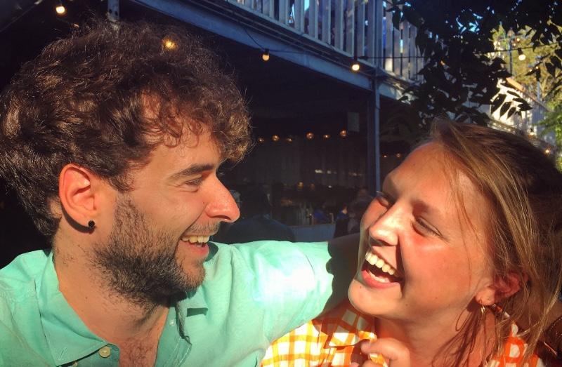 Filip en Anke op TAZ
